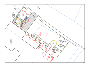 ars viridisi návrh zahrady osazovací a vytyčovací vykres